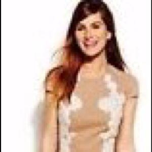 Anne Klein Dress Size 4 Tan/Nude!